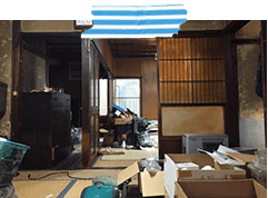 建て替え・解体前の片付け例