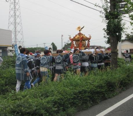 埼玉の祭り期間中の不用品回収。