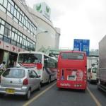 事故による渋滞、ご迷惑の影響。