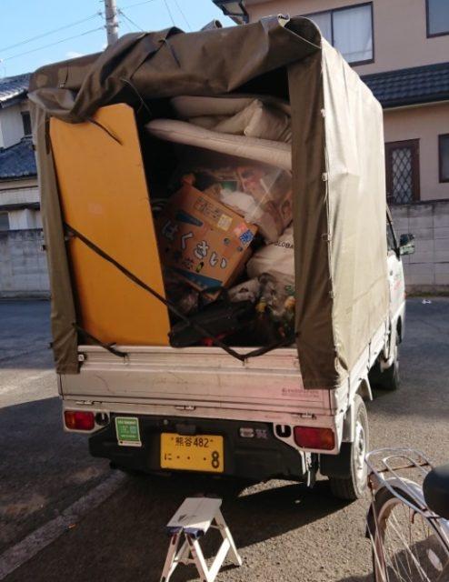 ゴミ回収 軽トラック
